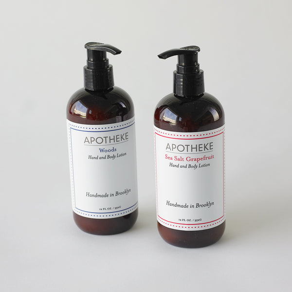Handmade natural hand body lotion
