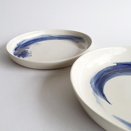 Blue + White Porcelain Dish
