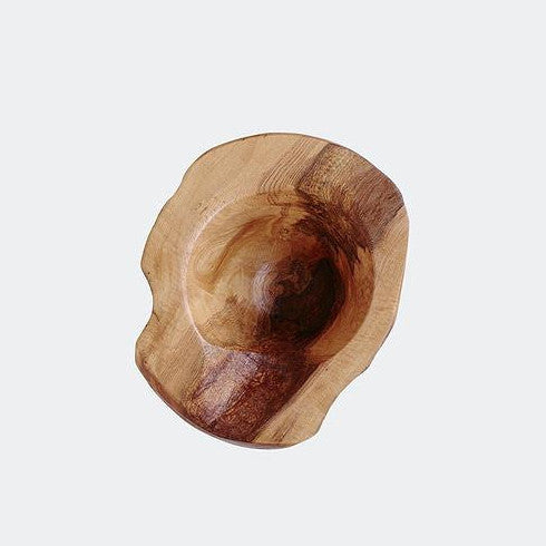 Handmade live edge wood bowl