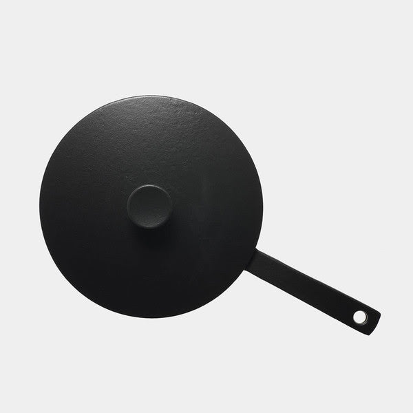 Enameled Cast Iron Frying Pan
