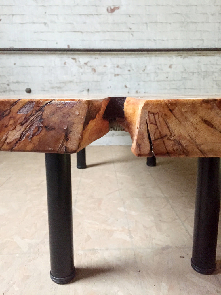 Burled Maple Coffee Table