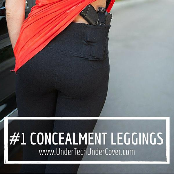 Concealed Carry Leggings Review by Sarah Tipton