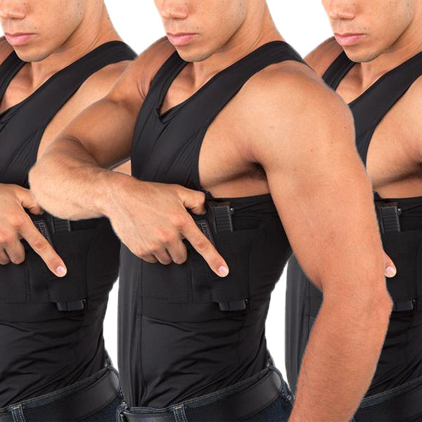Men's Concealed Carry Tank Multi-Pack - Undertech Undercover