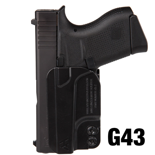 Advanced Mini Holster for Glock 42/43/43X/48 - Undertech Undercover