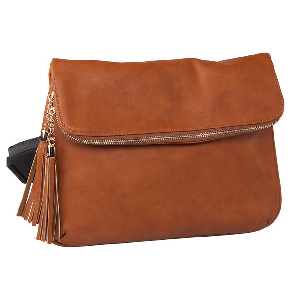 Daisy Lock and Key Concealed Carry Messenger Bag