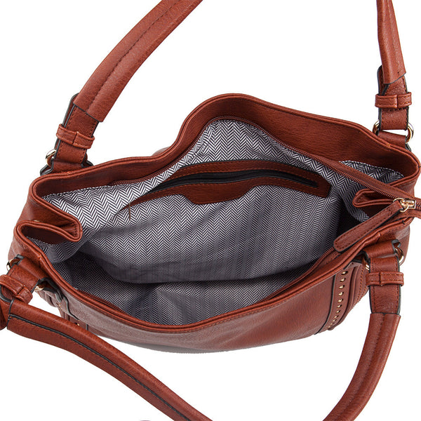 Natalie Lock & Key Concealed Carry Hobo Set - Undertech Undercover