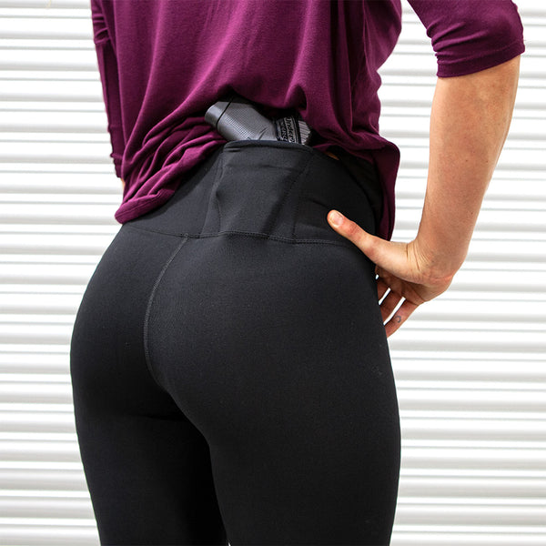 Women's Concealed Carry Original Leggings Full Length 3 Pack - Undertech Undercover