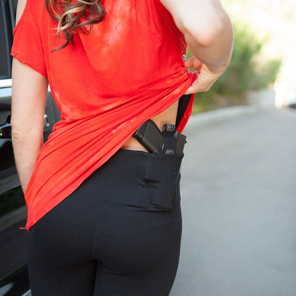 Original Concealed Carry Leggings-3/4 Length