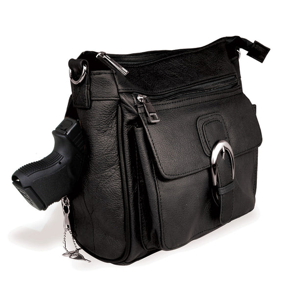 Single Strap Leather Purse - Undertech Undercover