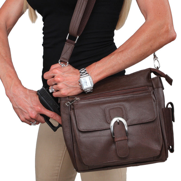12307c0965 Single Strap Leather Purse - Undertech Undercover