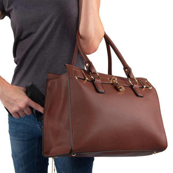 The Dina Concealed Carry Satchel w/Wallet
