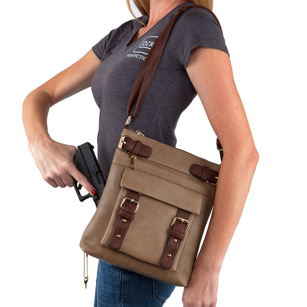 The Hannah Concealed Crossbody Purse