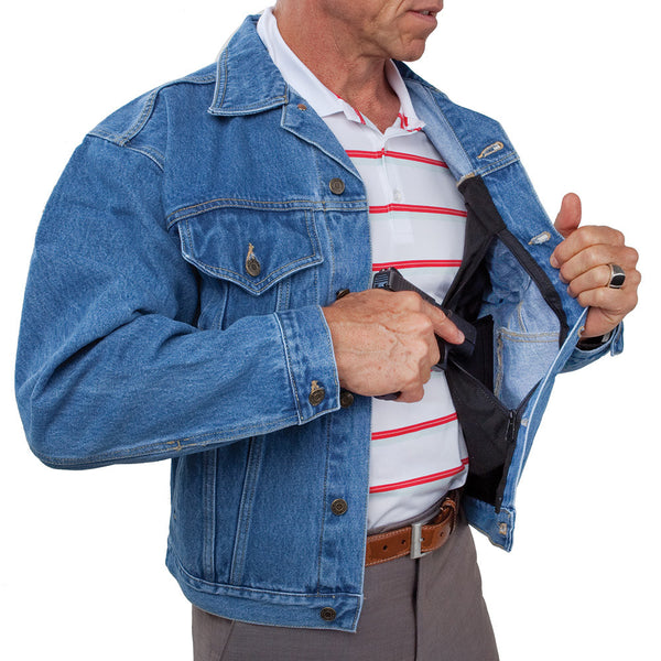 Concealed Carry Jean Jacket - Undertech Undercover