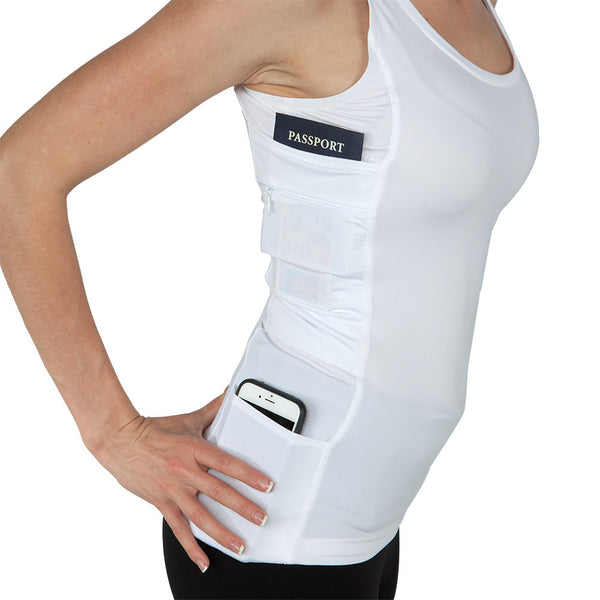 Womens Concealed Carry Executive Tank - Undertech Undercover