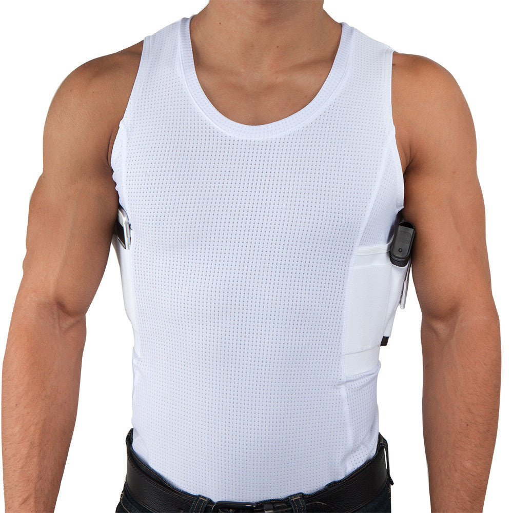 f55a48c7ac8ea2 Mens Concealed Carry Coolux Mesh Tank - Undertech Undercover ...