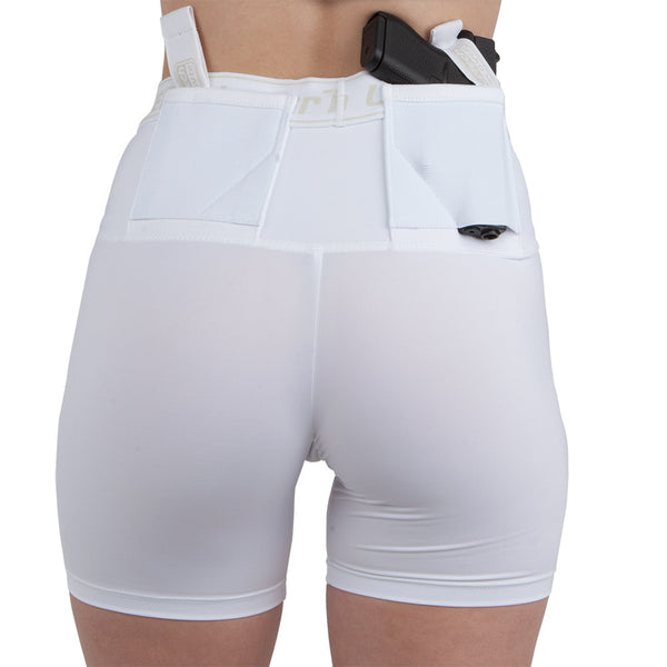 "Womens Concealed Carry 4"" Shorts - Undertech Undercover"
