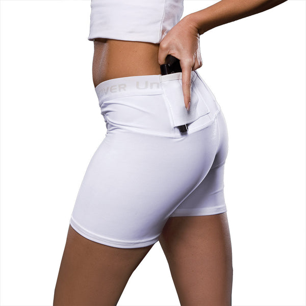 "Womens Concealed Carry 4"" Shorts"