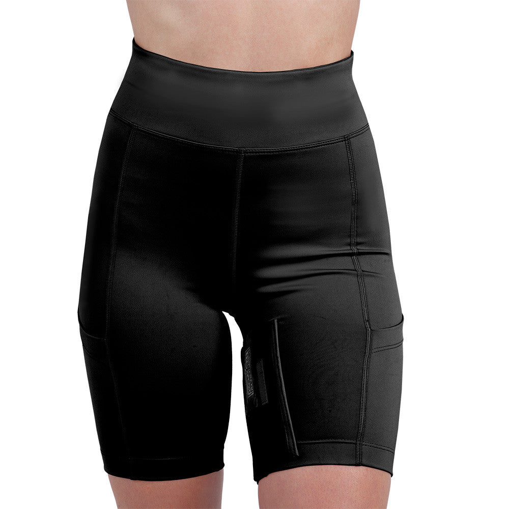Womens Concealed Carry Thigh Holster Shorts - UnderTech