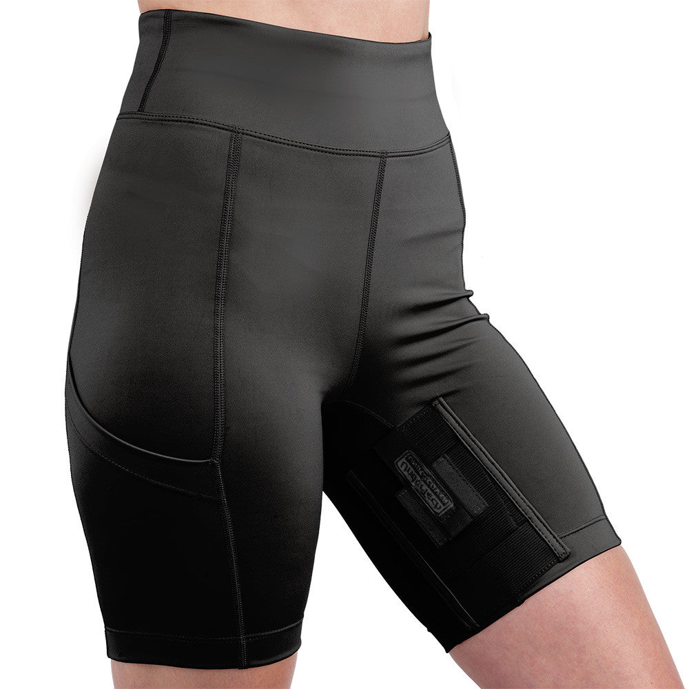 Womens Concealed Carry Thigh Holster Shorts Undertech Undercover