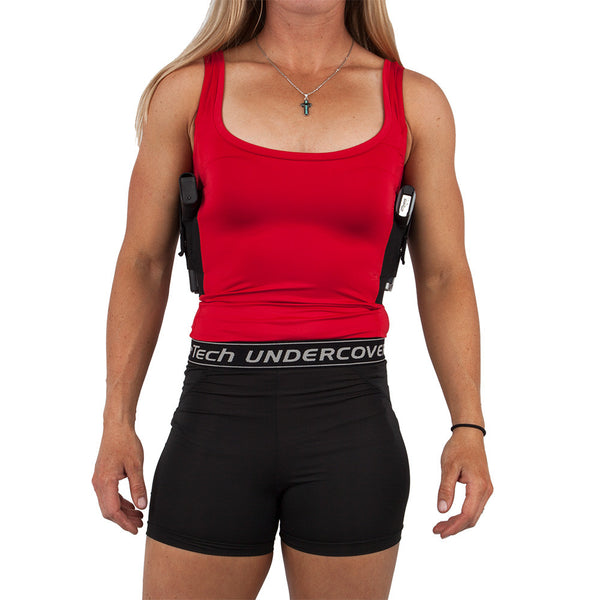 Womens Concealed Carry Tank Red - Limited Edition - Undertech Undercover