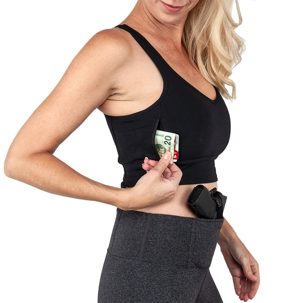 Concealed Carry Convertible Sports Bra - Undertech Undercover