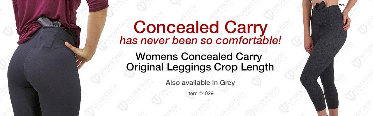Women's Concealed Carry Bootcut Leggings