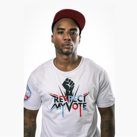 Respect My Vote! Fist White Tee - Men's