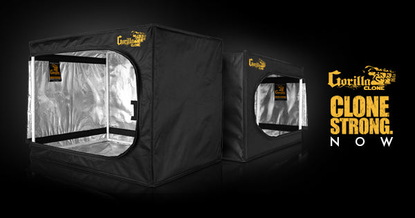 Gorilla Introduces Gorilla Clone Tents for Clones and Seedlings!