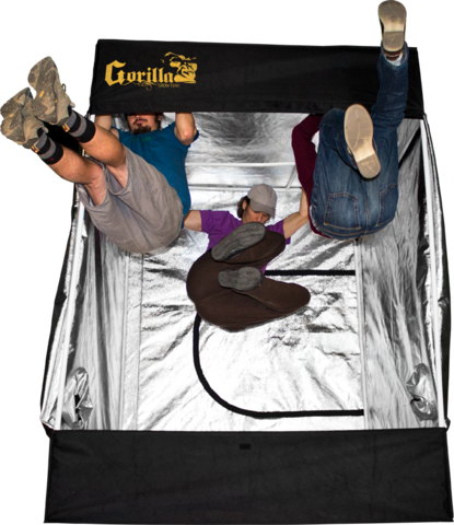 Gorilla Grow Tent Kit:  What Comes In The Box