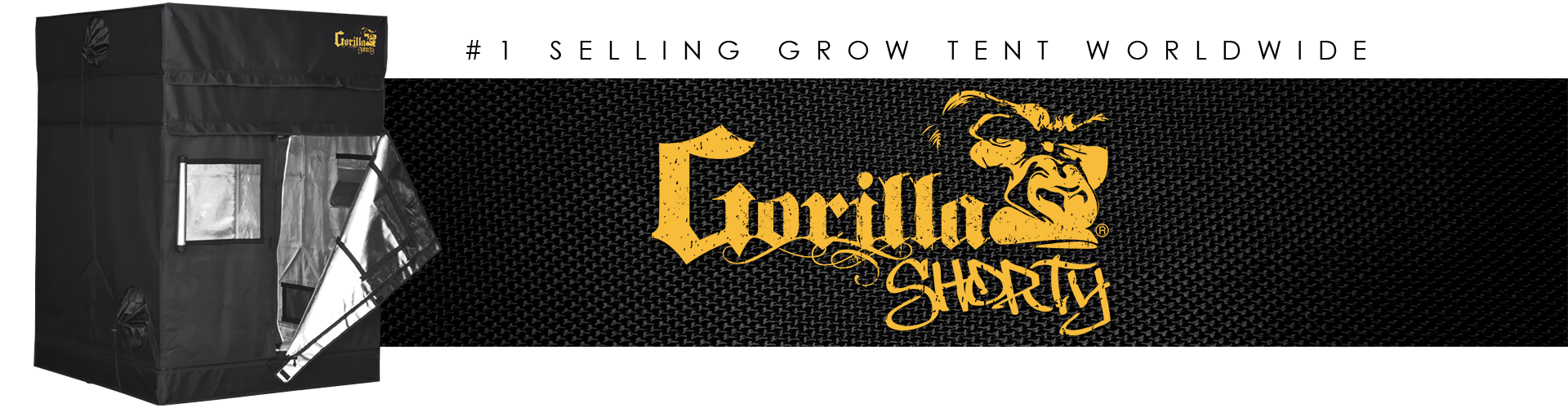 The Gorilla Grow Tent Shorty