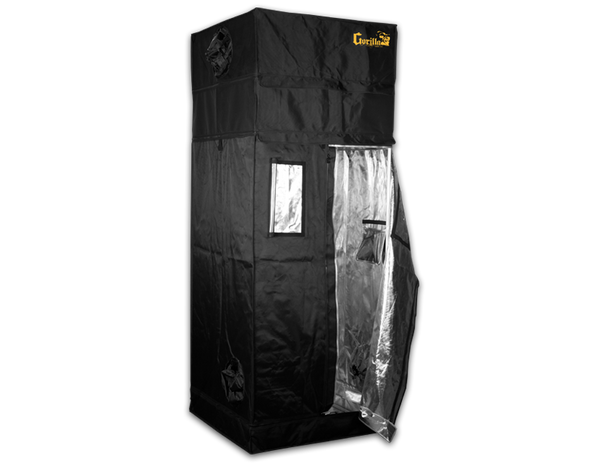 GGT 3x3 - Gorilla Grow Tent GGT Indoor Hydroponic Grow Tent Size for Personal Growers