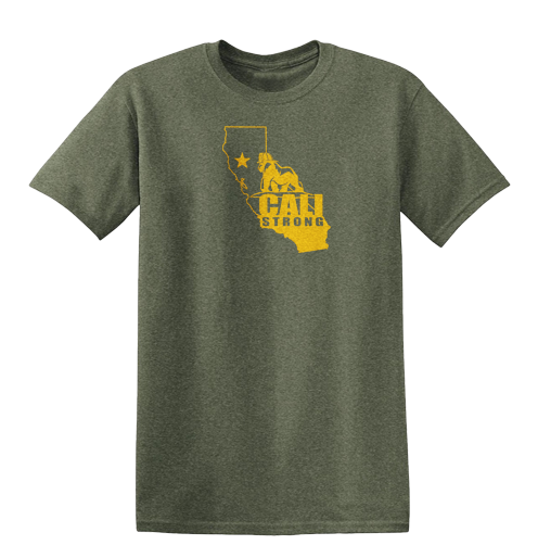 LIMITED EDITION CALI STRONG NORTHERN CALIFORNIA FIRE RELIEF SHIRT