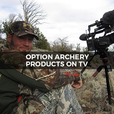 Option Archery Products on TV