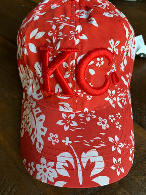 KC Heart | Red Miami Hat - Local T KC
