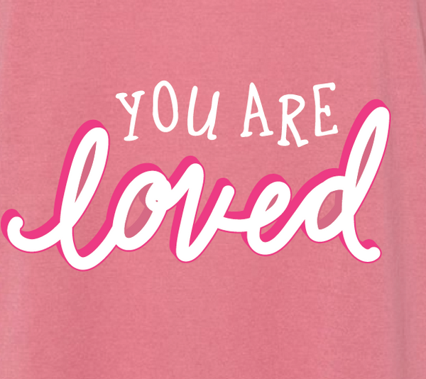 You are loved | Desert Pink T-shirt - Local T KC