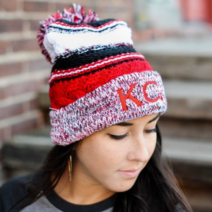 KC Heart | Cable Knit Beanie - Local T KC