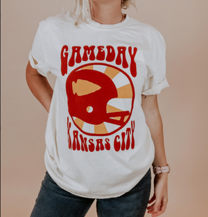 70's Game Day style Short Sleeve T-Shirt - Local T KC