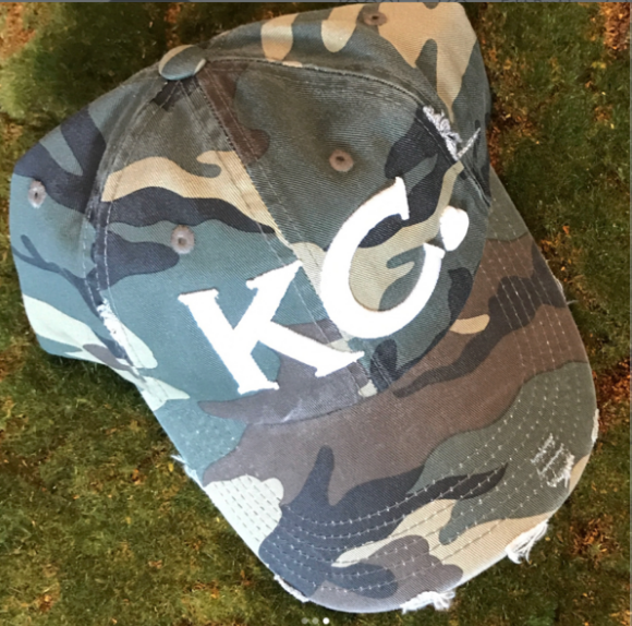 KC Heart | camo distressed - Local T KC