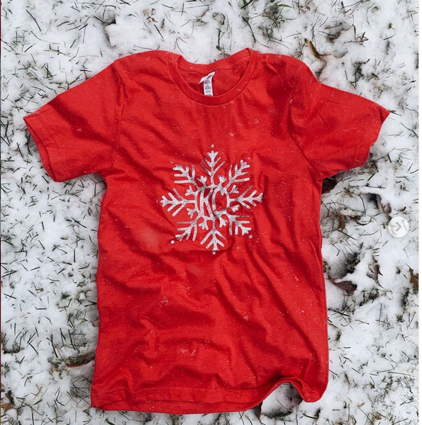 KC Snowflake Short Sleeve T-Shirt - Local T KC