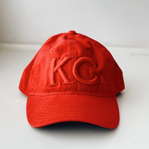 KC Heart | Red Trucker Hat - Local T KC
