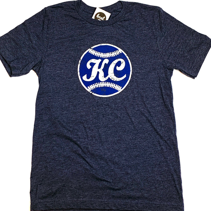 Vintage Ball  | Navy T-shirt - Local T KC