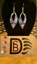 Load image into Gallery viewer, Metis Inspired Ribbon Earrings