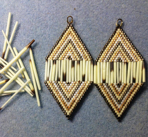Quill Center Earrings