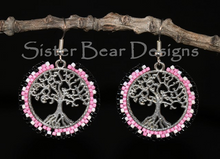Load image into Gallery viewer, Nookomis Giizhig - Tree of Life Earrings