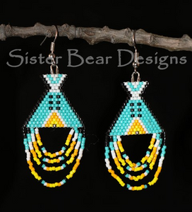 Tipi Earrings