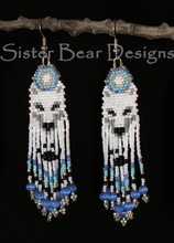 Load image into Gallery viewer, Ma'iingan (Wolf) Earrings
