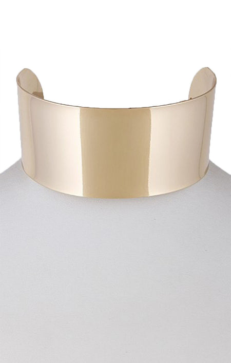 """Bow Down"" Gold Metal Crown"