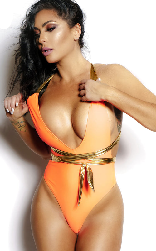 """EUROPA"" Multi-Wear One Piece Orange"