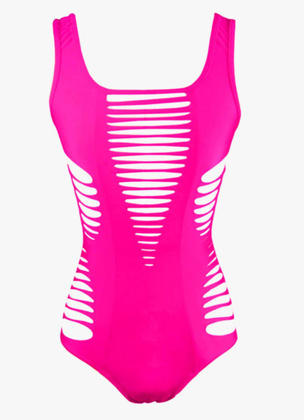 """BLACK WIDOW"" Pink One Piece"