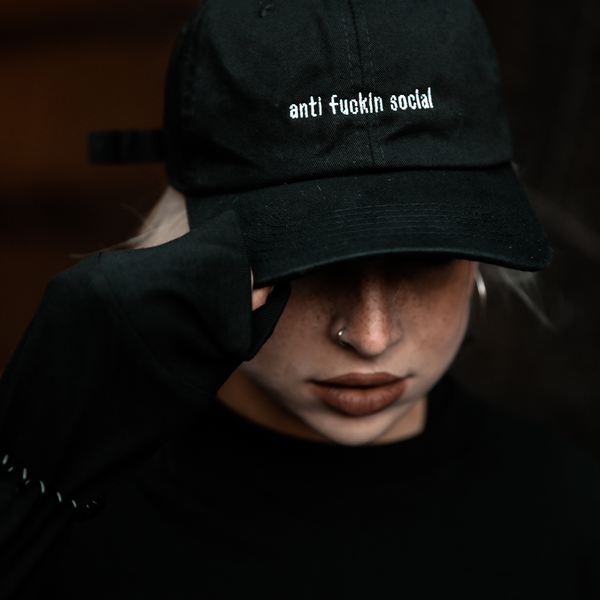 DPMO 'ANTI-SOCIAL' DAD HAT